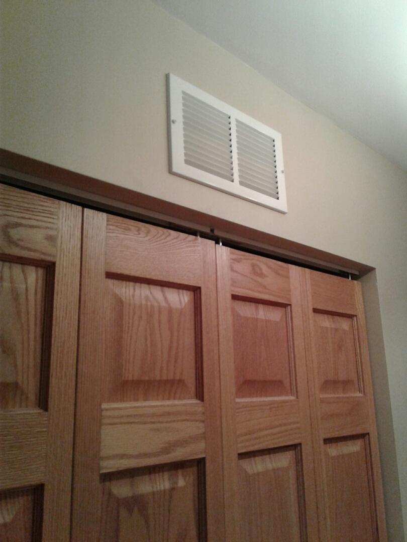 Vernon Hills, IL - Performed vent installation