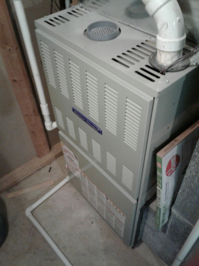 Ingleside, IL - Furnace inspection on American standard.