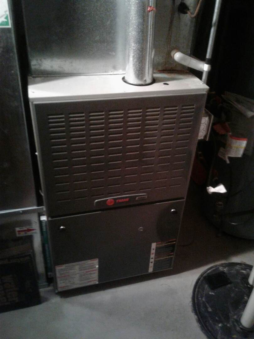 Wauconda, IL - Furnace inspection on Trane.