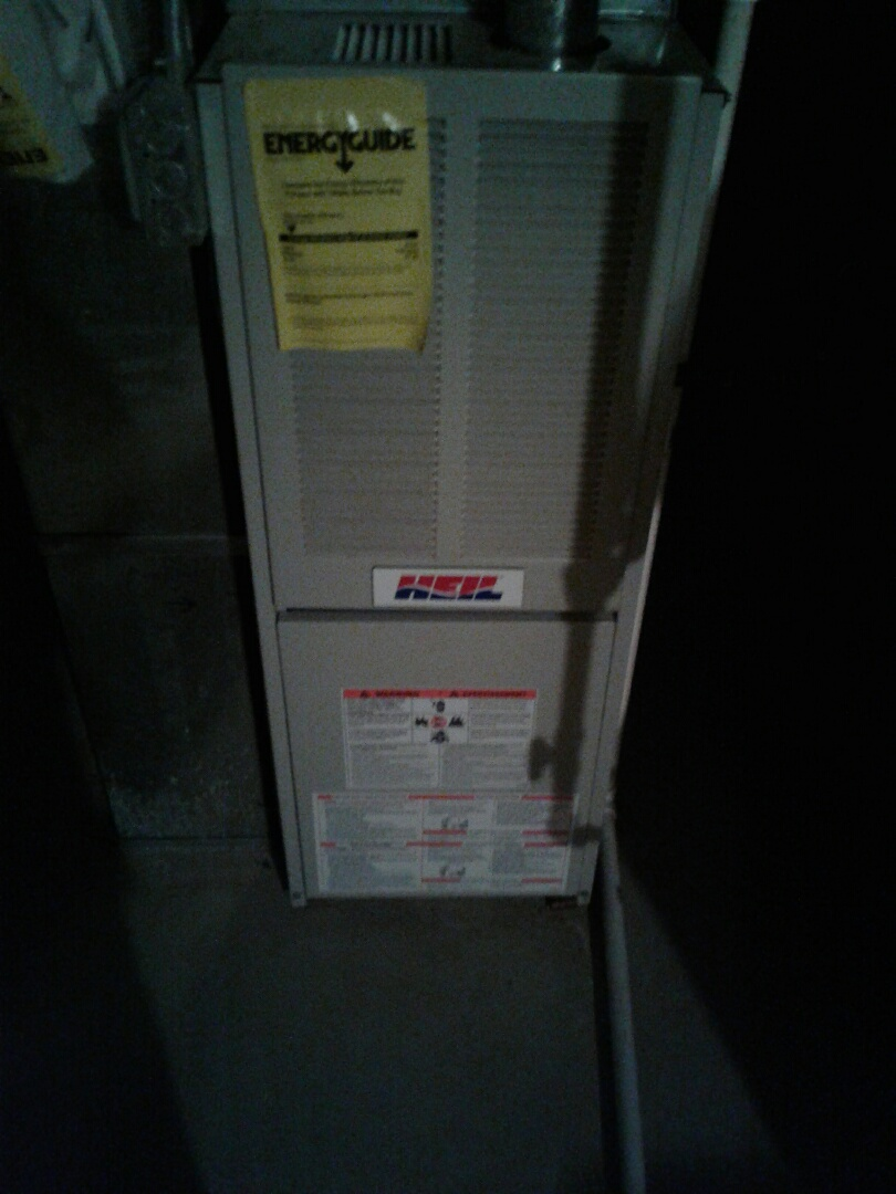 Fox Lake, IL - Furnace inspection on heil