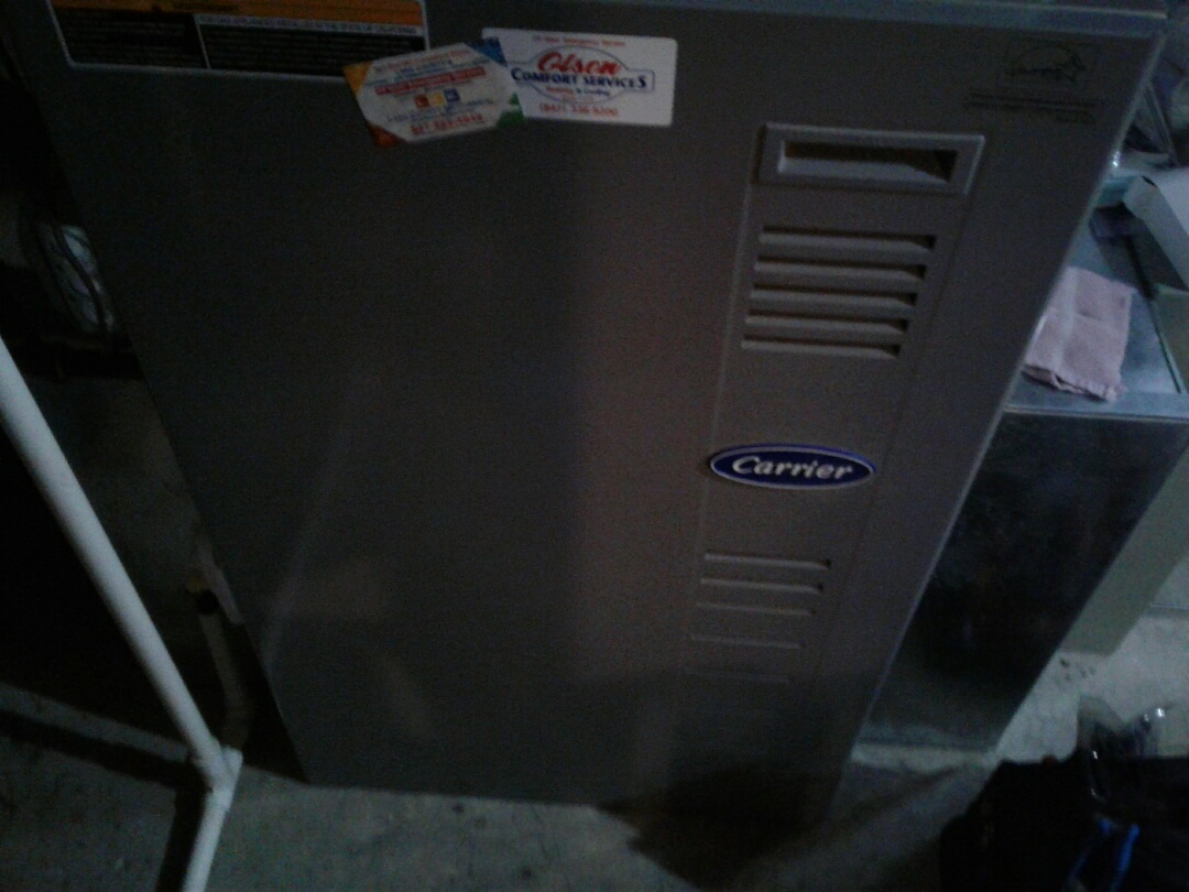 Antioch, IL - Furnace inspection on carrier