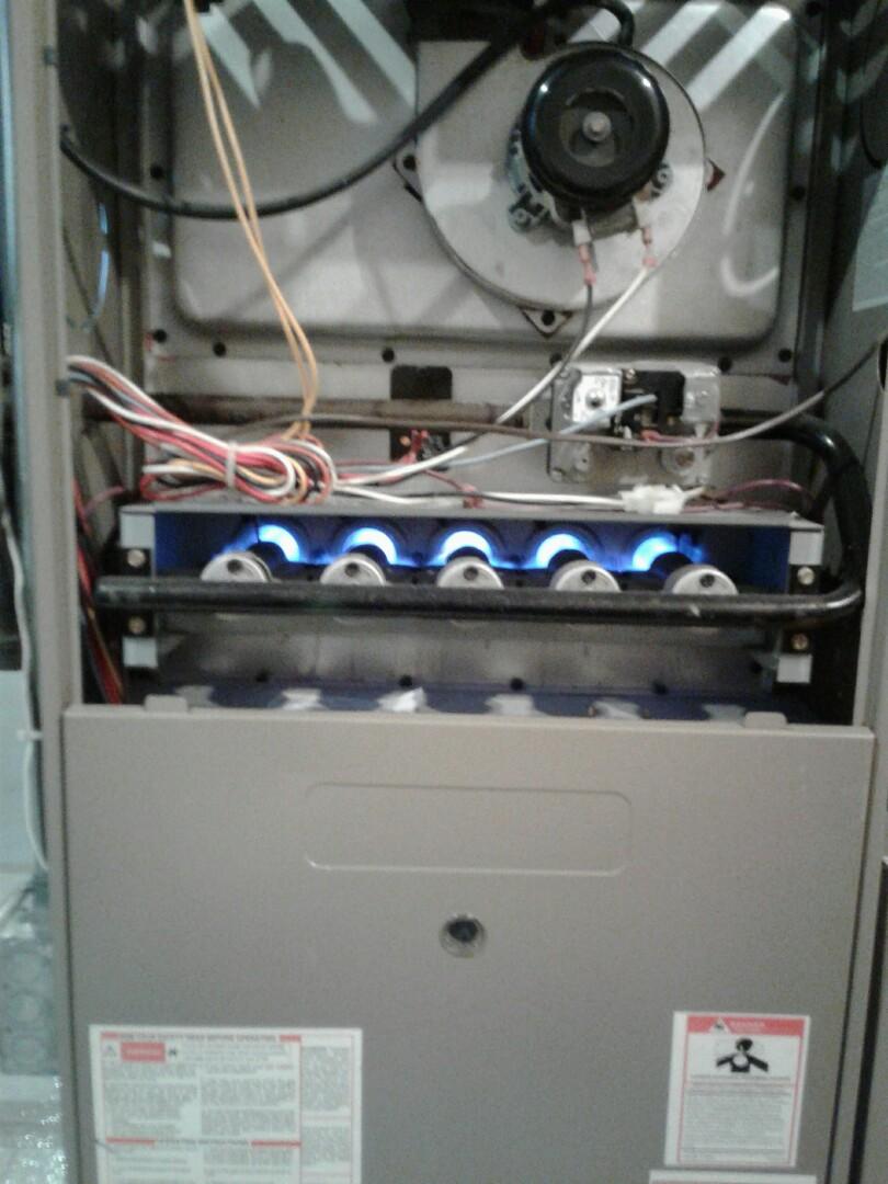 Gurnee, IL - Cleaned flame sensor on goodman.