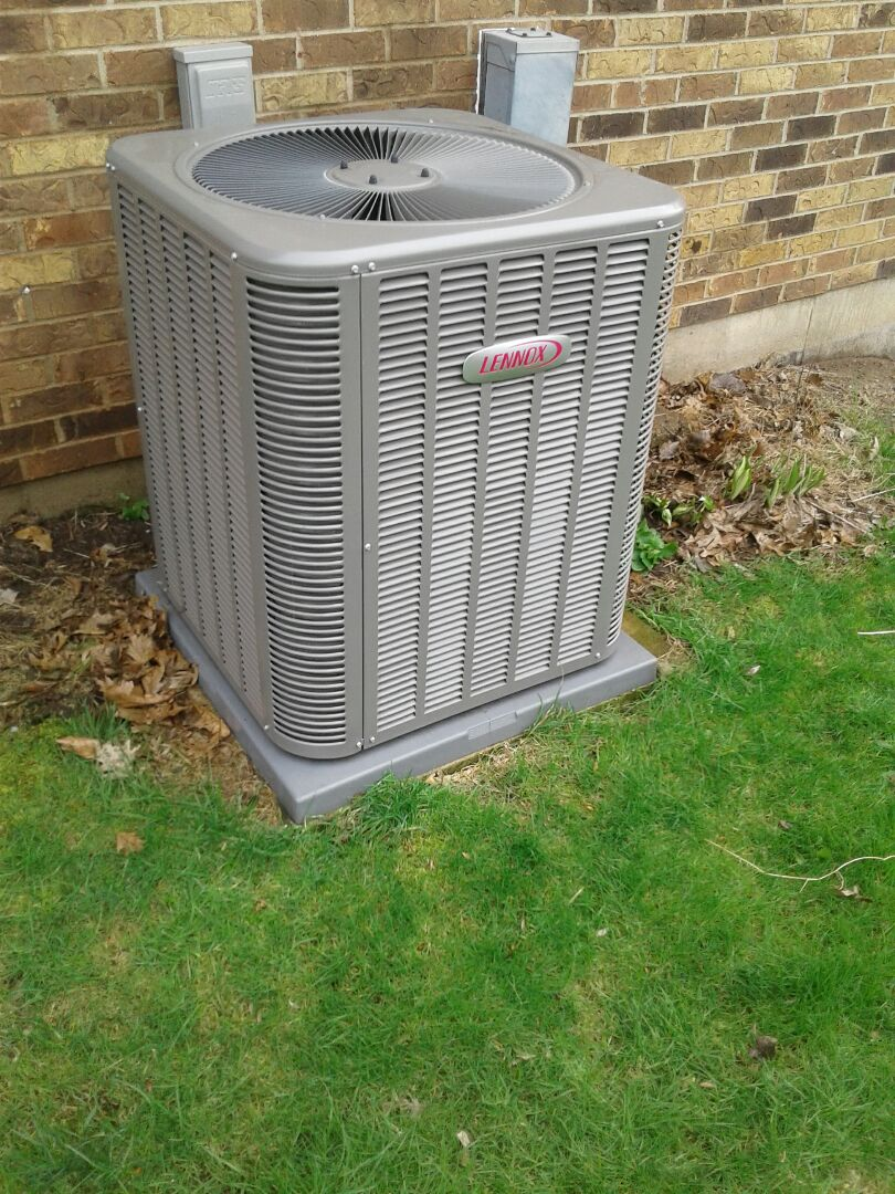 McHenry, IL - A.c. clean and check on Lennox