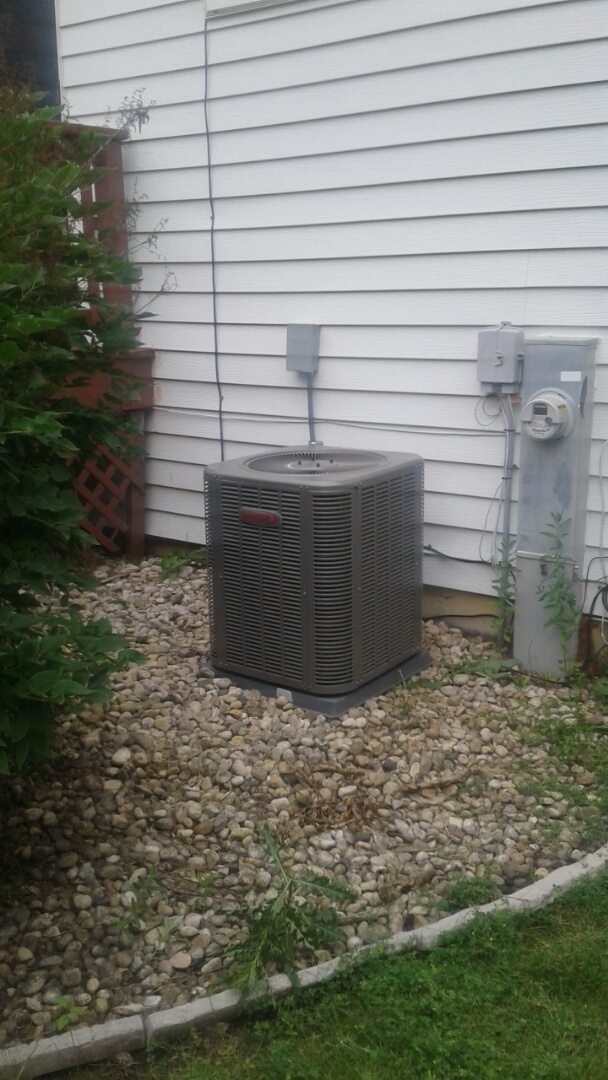 Grayslake, IL - A.c. install on lennox