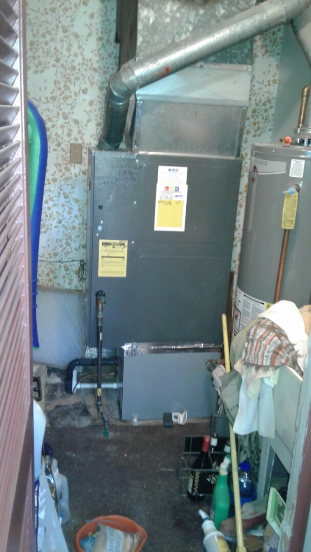 Mundelein, IL - Goodman furnace clean and check