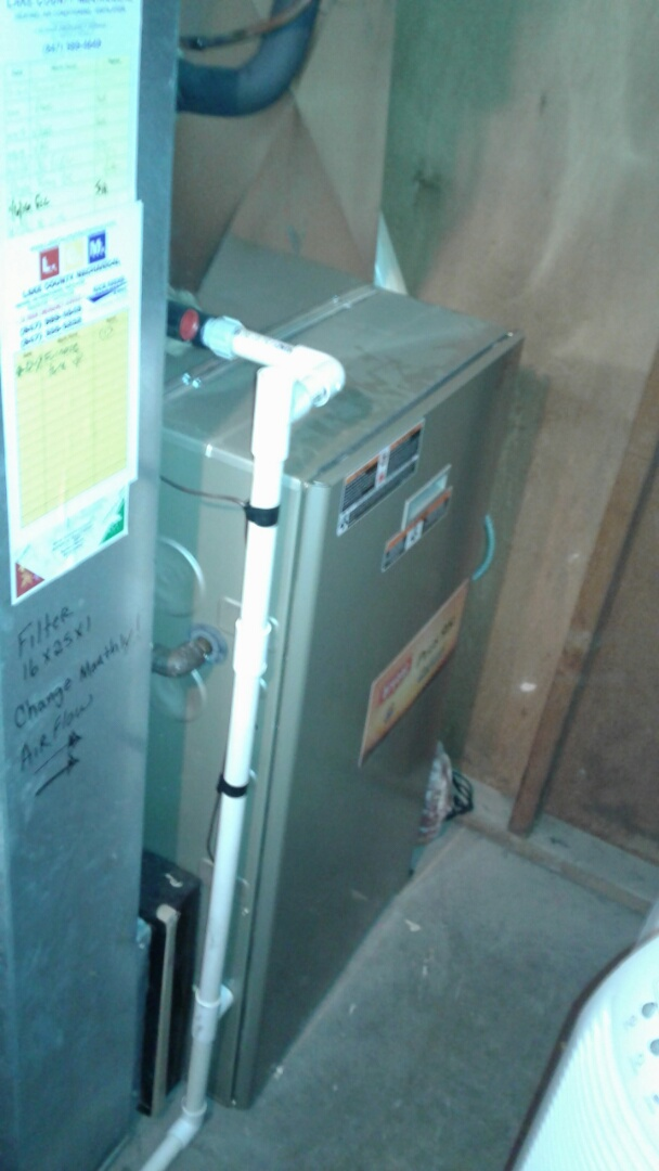 Mundelein, IL - Bryan furnace clean and check