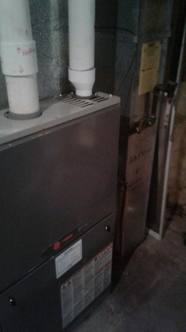 Gurnee, IL - Furnace inspection on trane