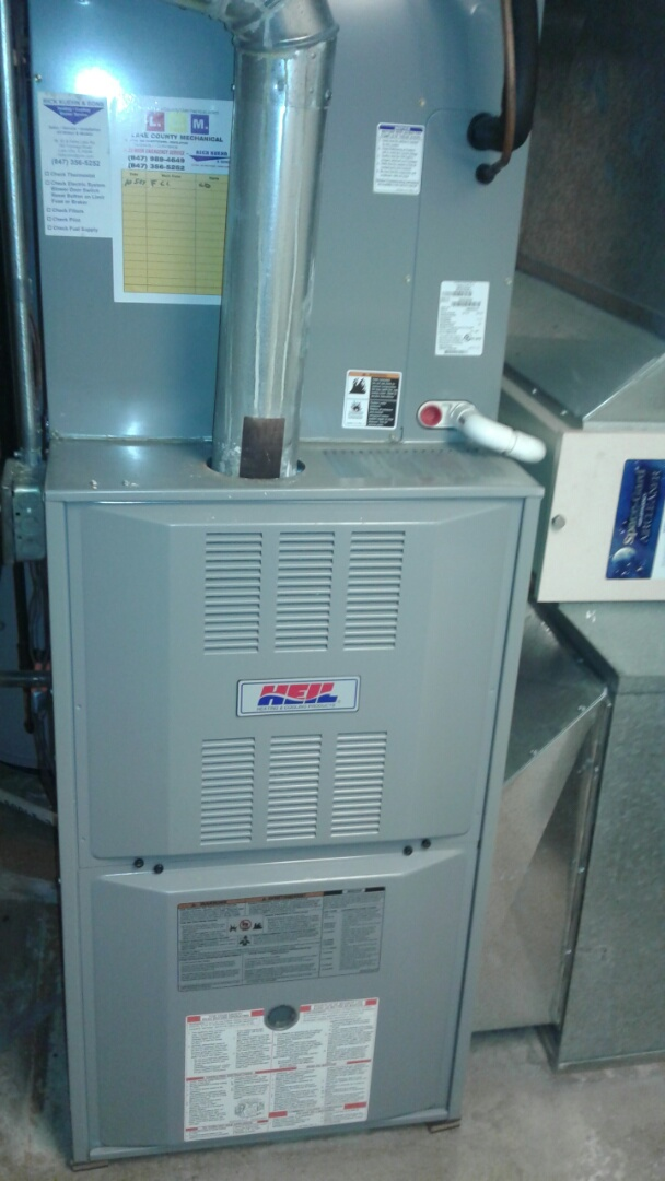 Lake Forest, IL - Heil furnace clean and check