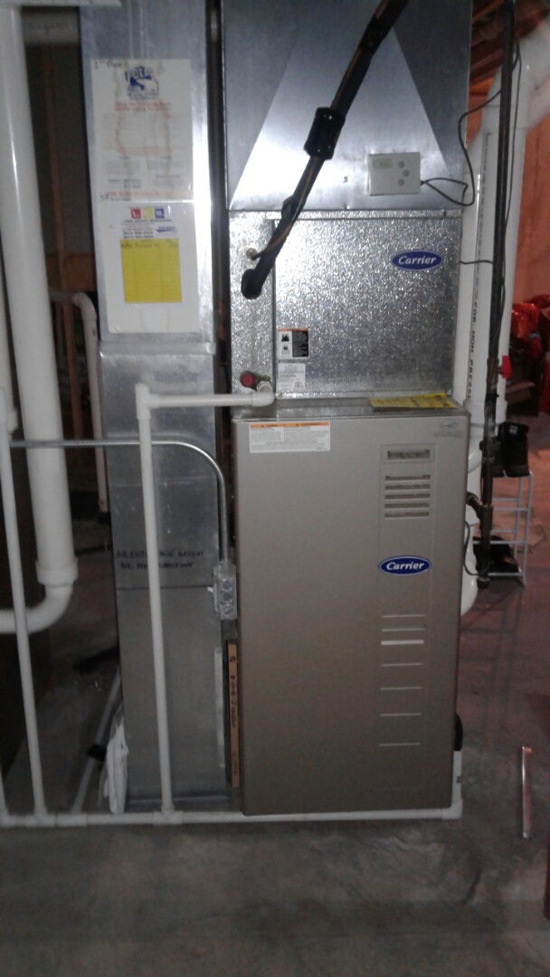 Lake Villa, IL - Carrier furnace clean and check