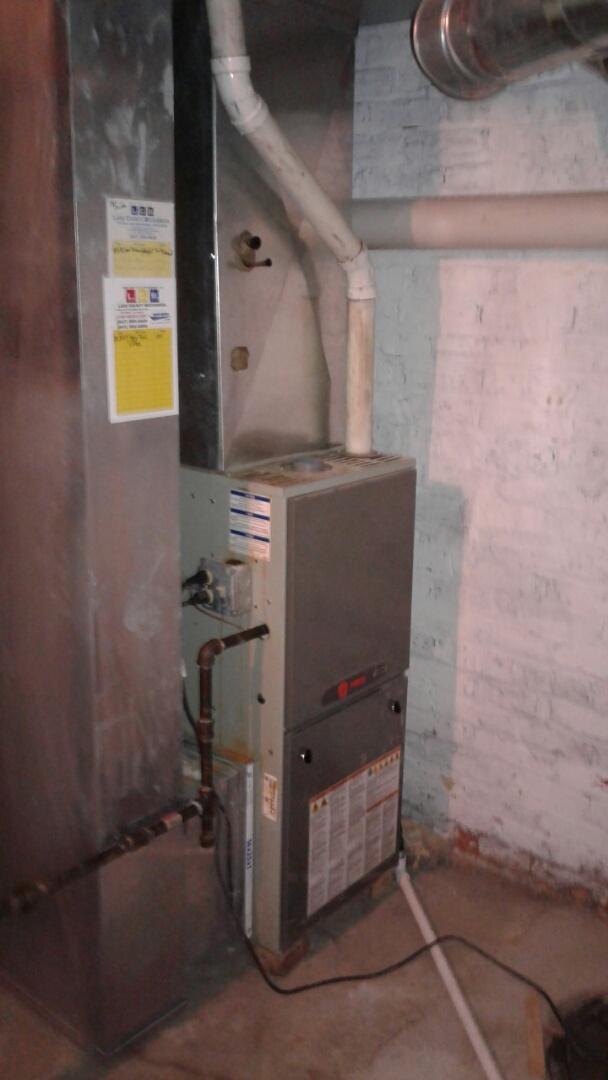Waukegan, IL - Trane furnace repair