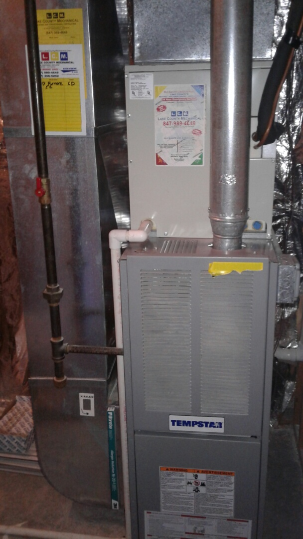 Gurnee, IL - Furnace clean and check
