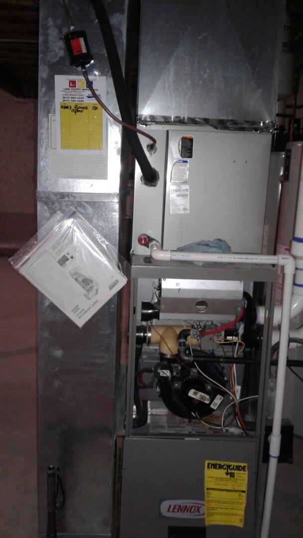 Gurnee, IL - Lennox furnace repair