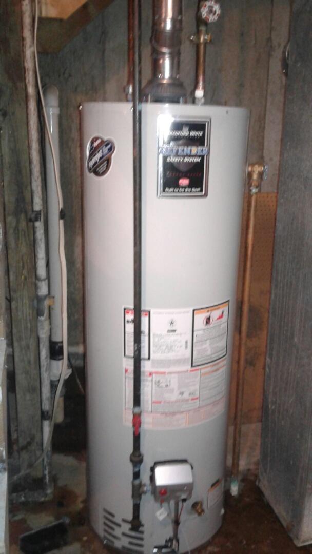 Lake Villa, IL - New water heater installation
