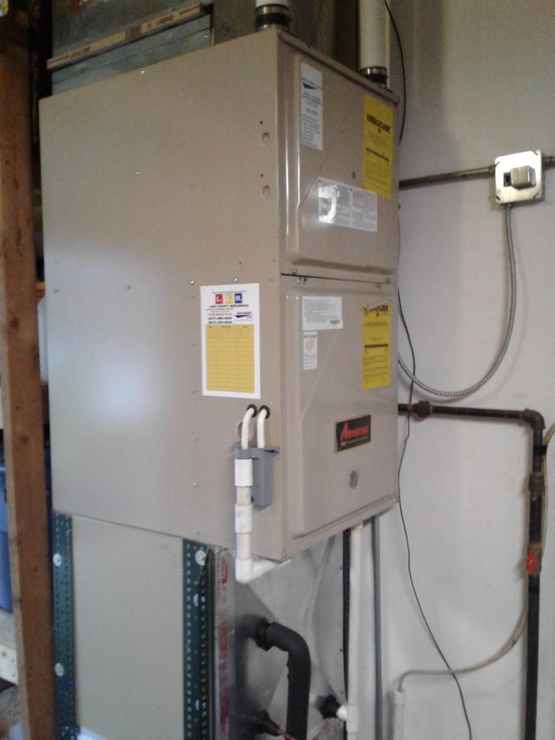 Mundelein, IL - Furnace inspection in Amana