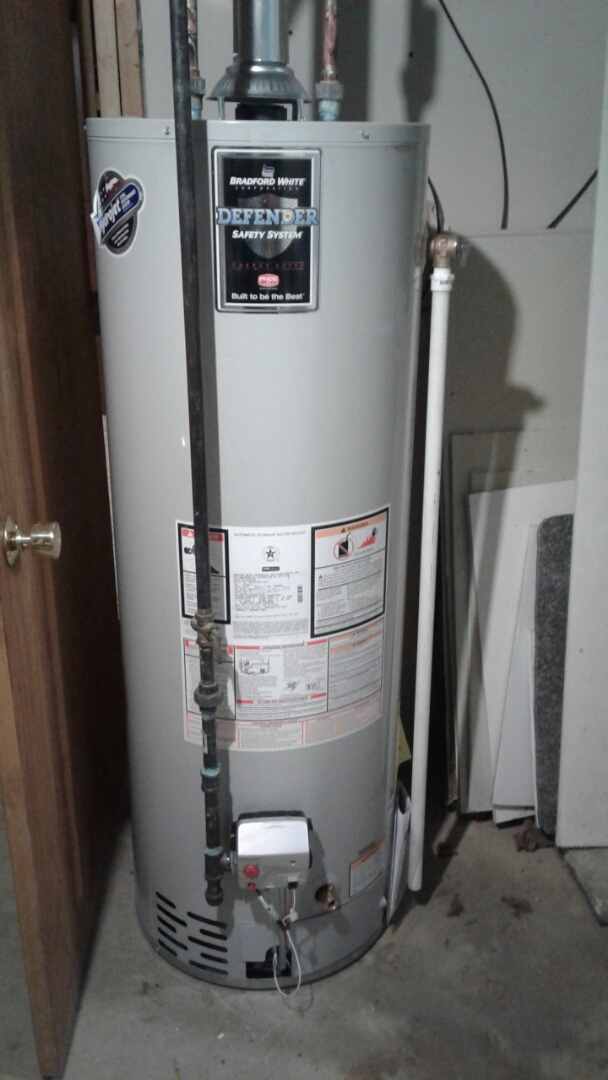 Antioch, IL - Bradford white new water heater installation