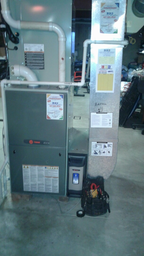 Antioch, IL - Trane furnace repair