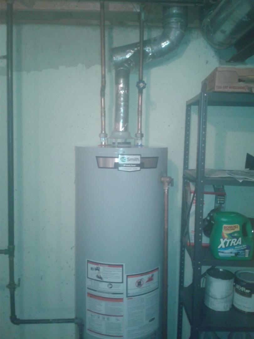 Gurnee, IL - Water heater install