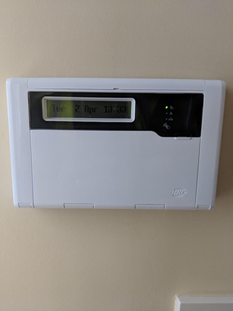 Lichfield, Staffordshire - Installing a new Hkc 1070 alarm system