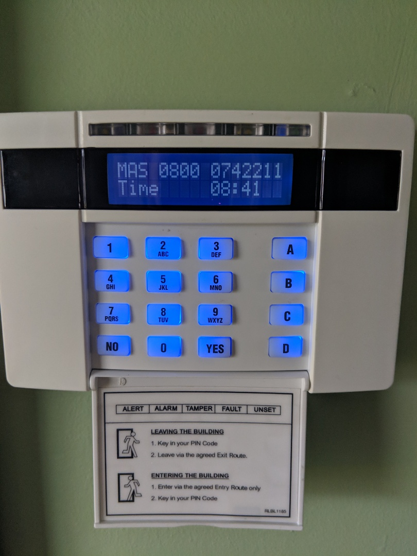 Evesham, Worcestershire - Service for euro mini alarm system