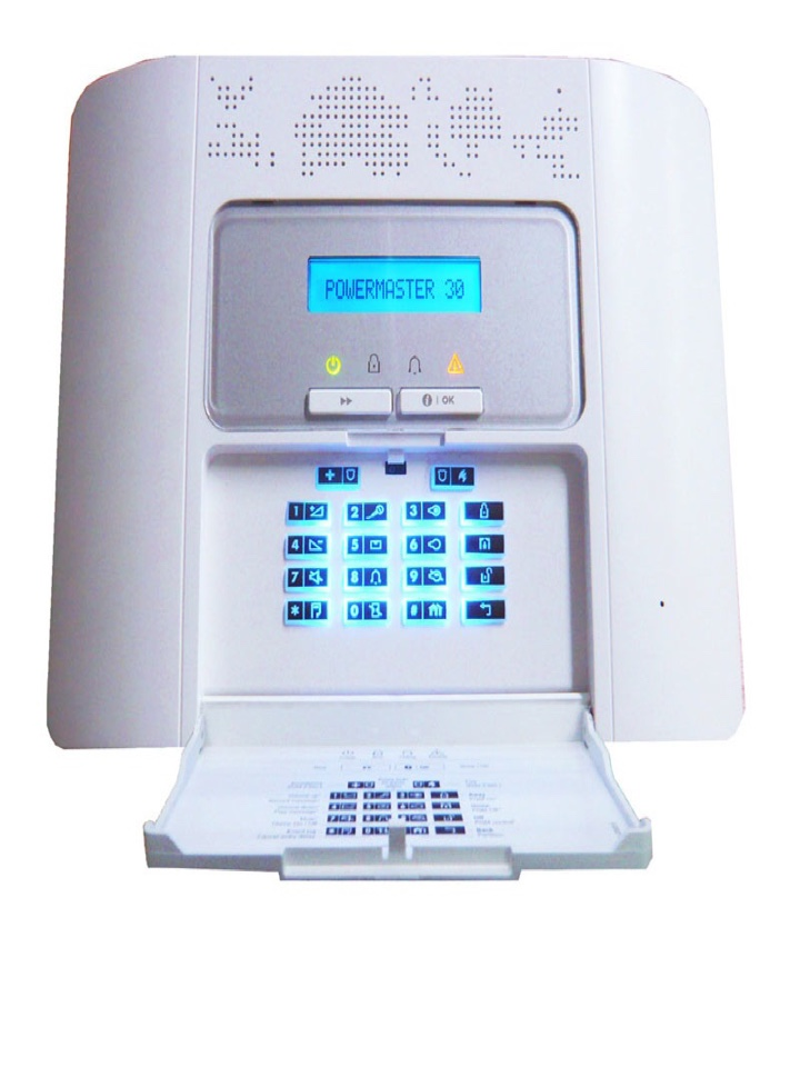 Installation complete of an alarm for an existing customer who has just moved to a new Taylor Wimpy house.