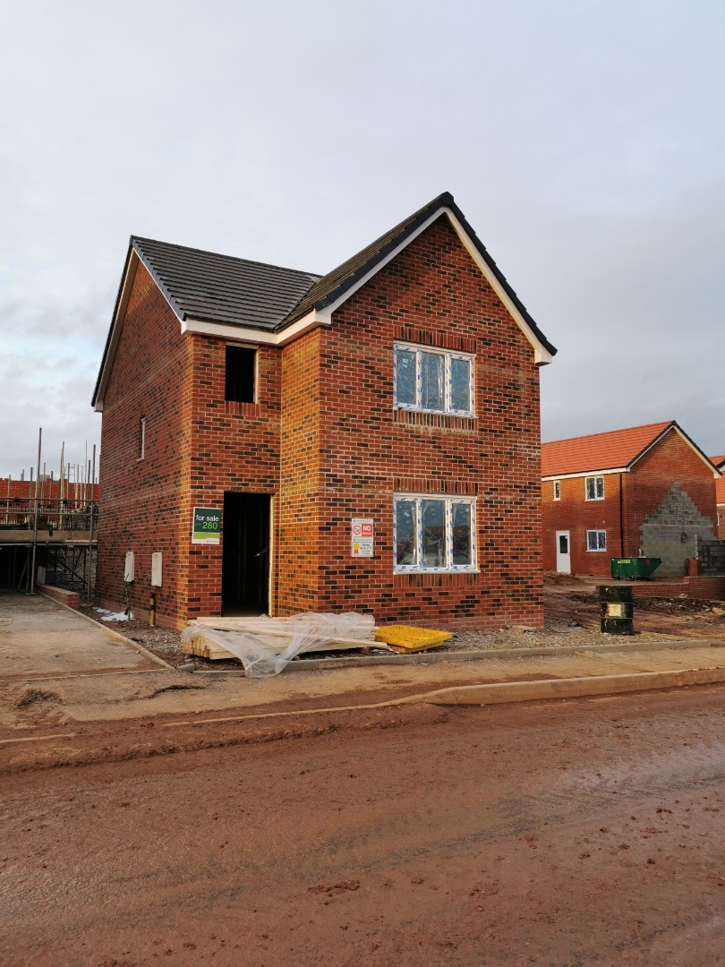 Daventry, Northamptonshire - Installing a new hkc quantum alarm system for persimmon homes at meadow view