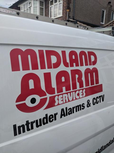 Installing two new wirleess HKC quantum alarm systems for persimmon homes at Yewtree Farm.