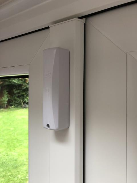 Lichfield, Staffordshire - Installing a new hkc 10270 alarm system with shock sensors and Wi-Fi