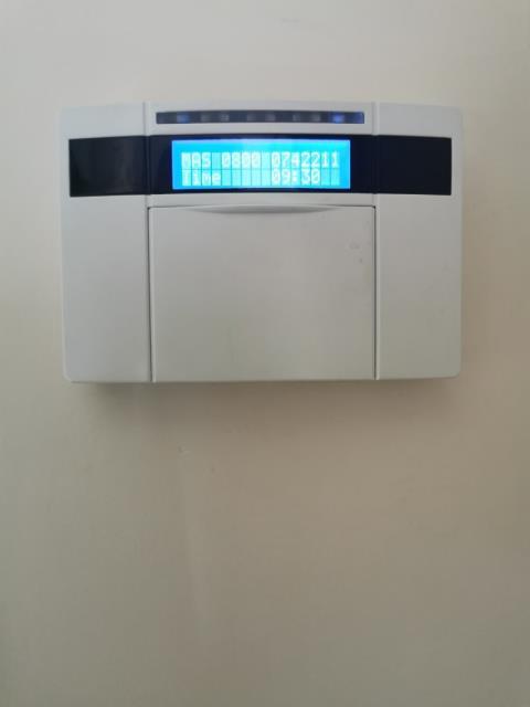 Kenilworth, Warwickshire - Service for a euro mini alarm system