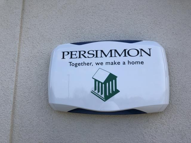 Burntwood, Staffordshire - Installing a new hkc quantum alarm system for persimmon homes at Cotswold Vale