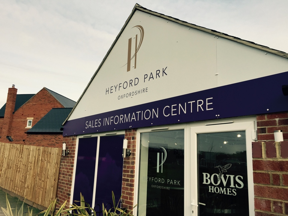 Bicester, Oxfordshire - Just dropped a few brochures to Sales at Heyford Park, Bovis Homes development in Oxfordshire where we are fitting all of the alarm systems.