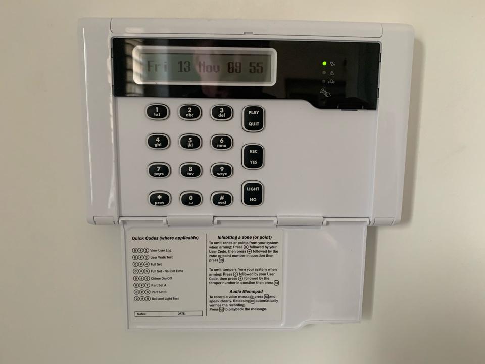 Cheltenham, Gloucestershire - Service alarm system