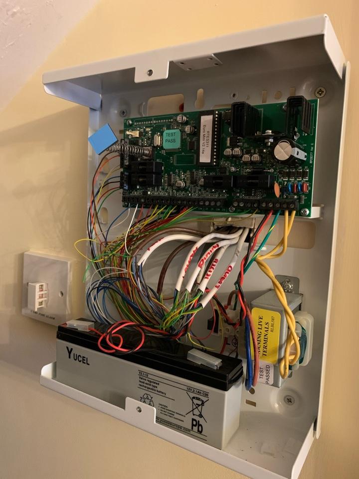 Evesham, Worcestershire - Service to alarm system in Evesham