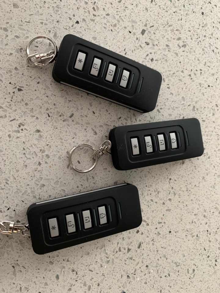Evesham, Worcestershire - New key fobs for wireless alarm system in Evesham