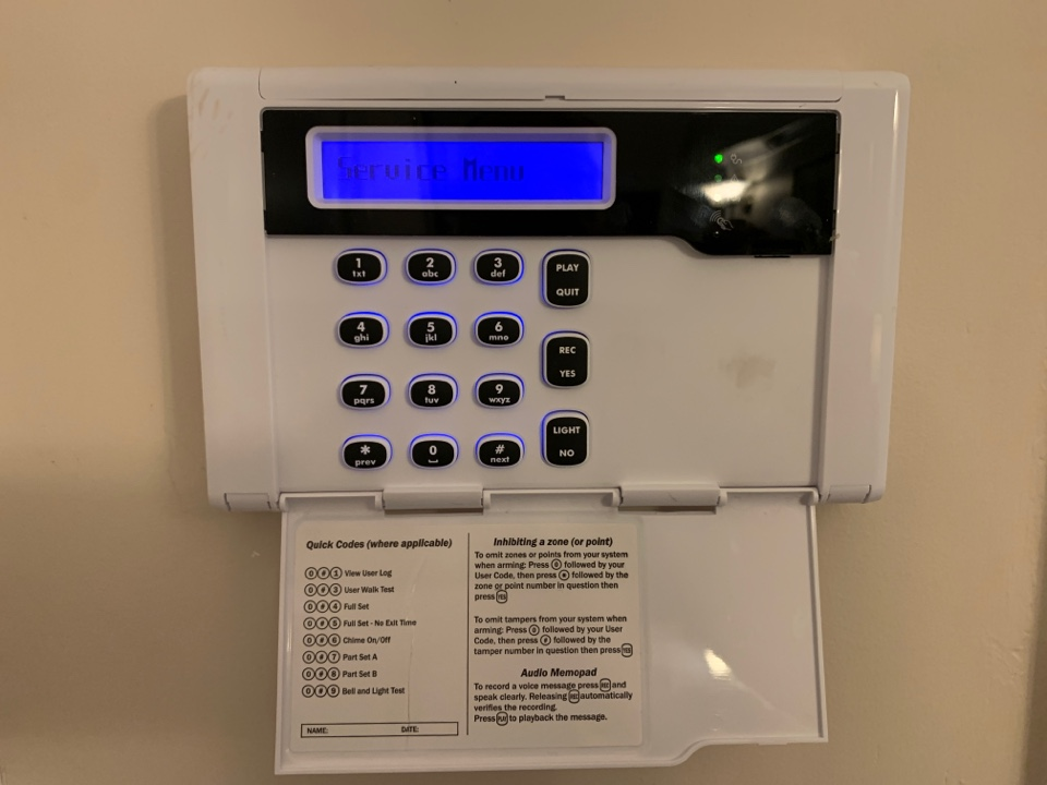 Solihull, West Midlands - Testing wireless burglar alarm system in Knowle Solihull