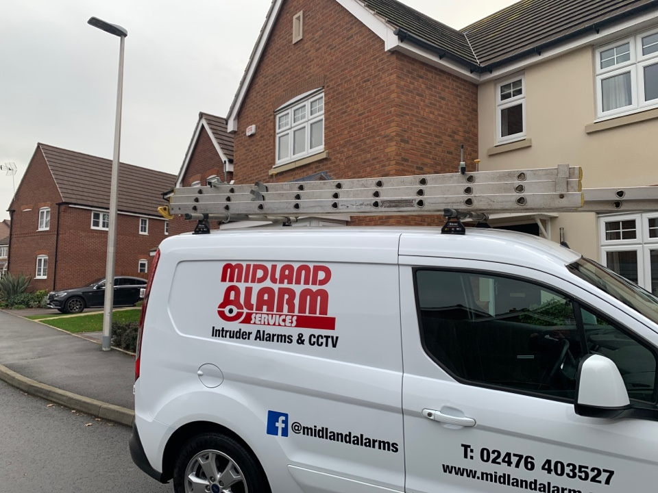 Leamington Spa, Warwickshire - Service to wireless alarm system in Leamington Spa
