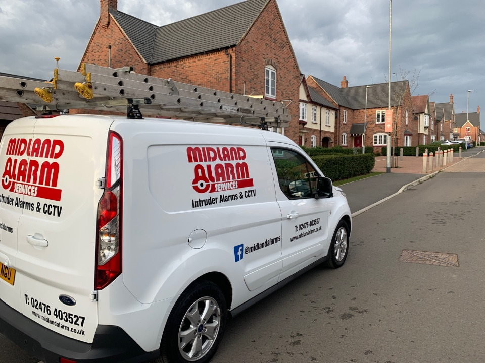 Ashby-de-la-Zouch, Leicestershire - 3rd year service inc changing all batteries to wireless house alarm system in Ashby de la Zouch