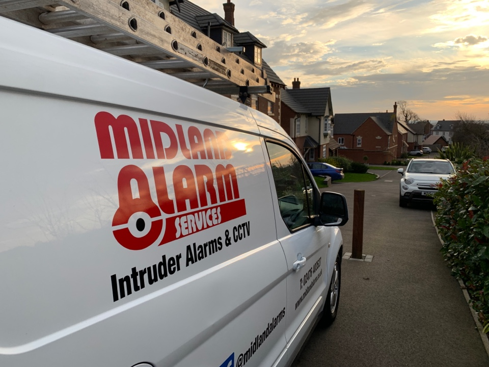 Ashby-de-la-Zouch, Leicestershire - Service wire free burglar alarm in Leicestershire