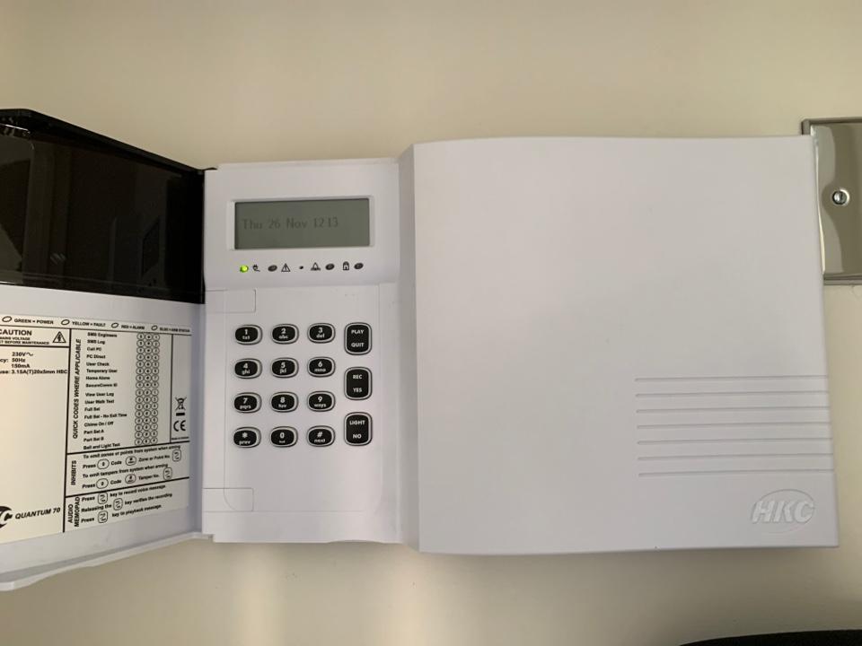 Halesowen, West Midlands - Service to wireless alarm system in Halesowen
