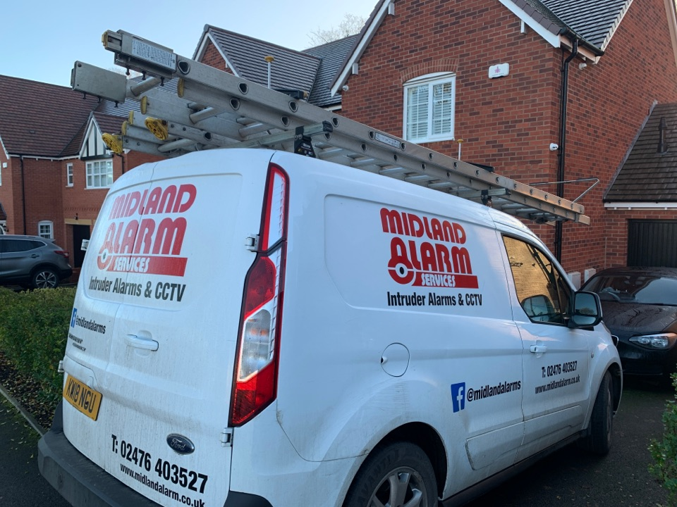 Service in Birmingham home wireless alarm system