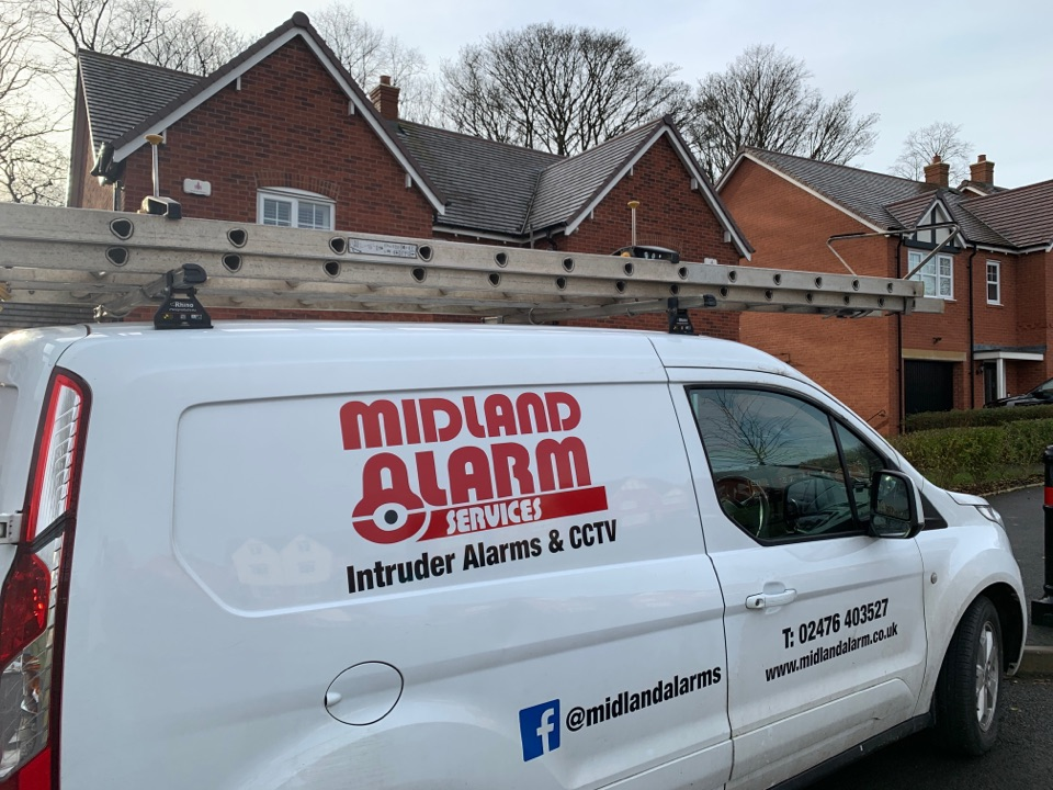 Service to wireless alarm system in Shelly oak Birmingham