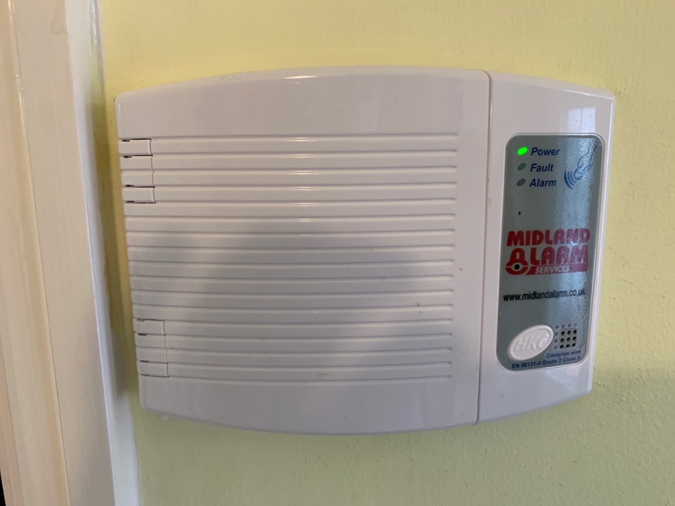 Rugby, Warwickshire - Alarm system service in Rugby