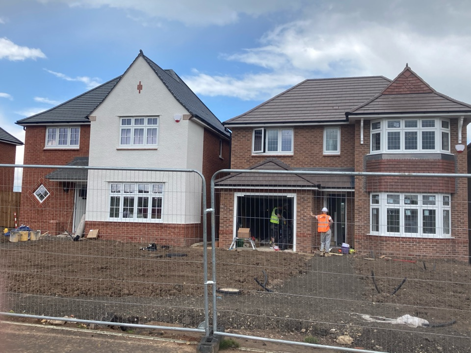 Another wireless alarm install done on another Redrow development- Redrow - Midsummer Meadow-