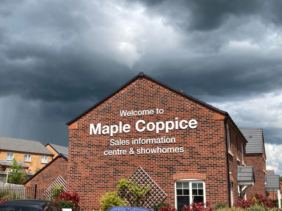 Droitwich, Worcestershire - Installed 2x wireless alarms systems at Taylor Wimpey Maplle Coppice