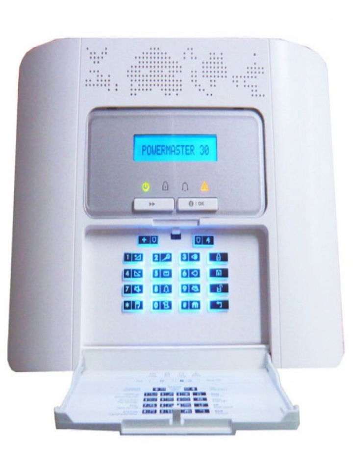 Full service on a Visonic PowerMaster30 alarm we installed about 5 years ago, after the original customer moved and a new one moved in.