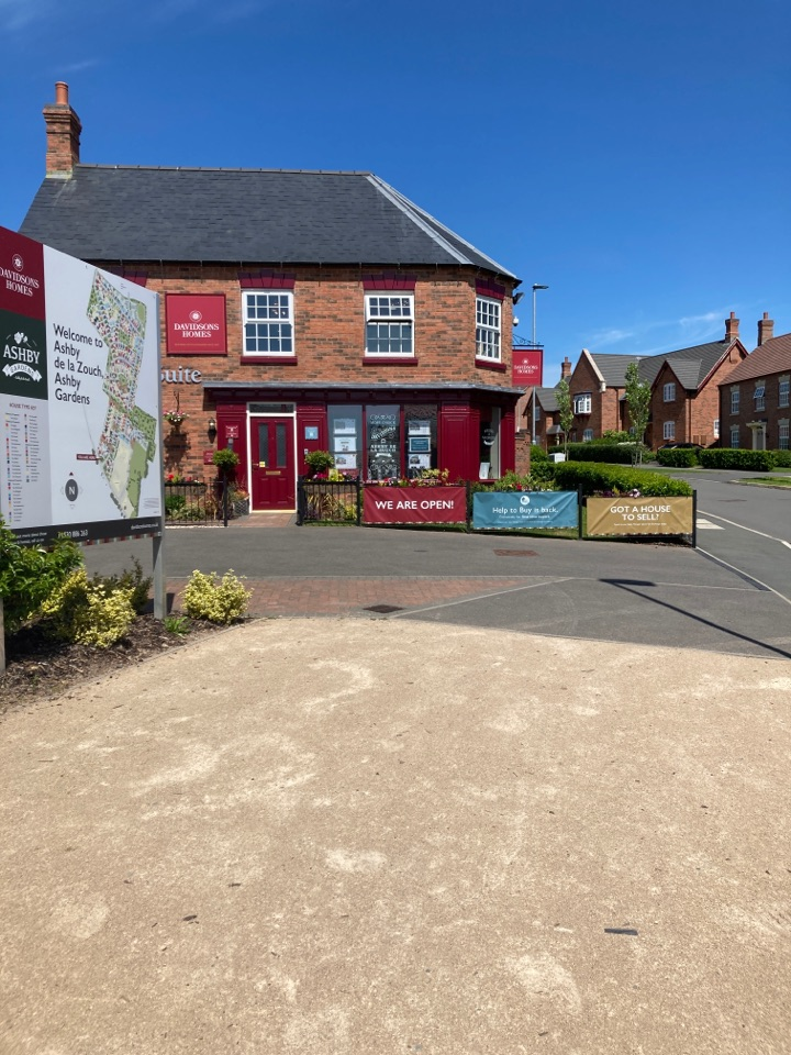 Ashby-de-la-Zouch, Leicestershire - All batteries changed in the Davidson's homes marketing suite alarm system