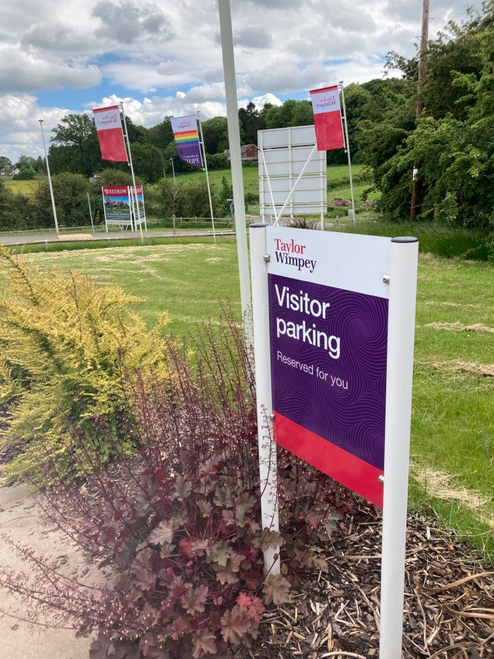 Droitwich, Worcestershire - Installed a wireless alarm system in a Taylor Wimpey home