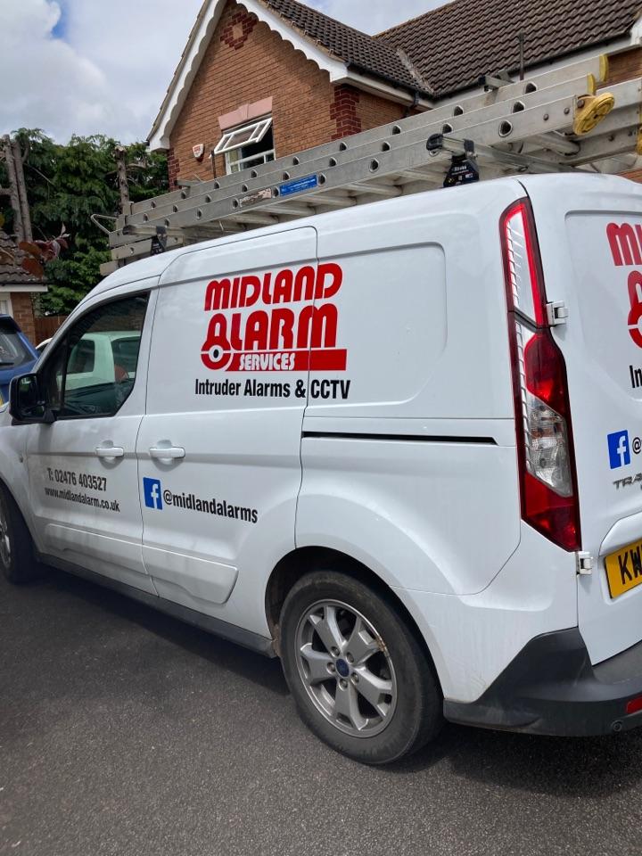 Serviced a wireless alarm system
