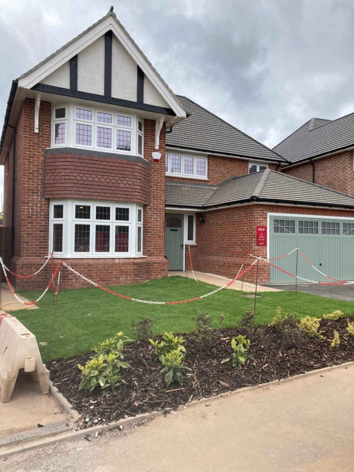 Telford, Shropshire - Installed a wireless Visonic power master alarm system on the Redrow site