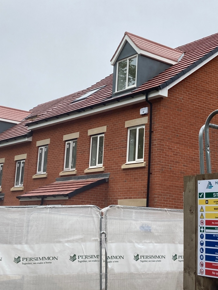 Installed a wireless alarm in another for on the Persimmon Homes The Oaks site