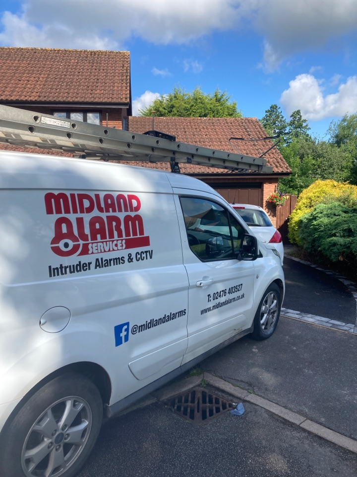 Serviced a wired alarm